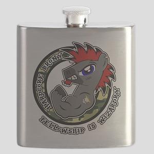 Hardcore Brony Flask