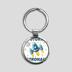 Future Astronaut (Boy) Round Keychain