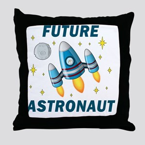 Future Astronaut (Boy) Throw Pillow
