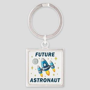 Future Astronaut (Boy) Square Keychain