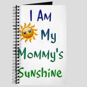 I Am My Mommy's Sunshine Journal