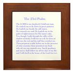 23rd Psalm Framed Tile