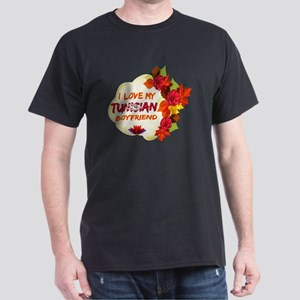 Tunisian Boyfriend Designs Dark T-Shirt