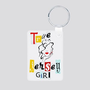 Jersey Girl Collection Aluminum Photo Keychain
