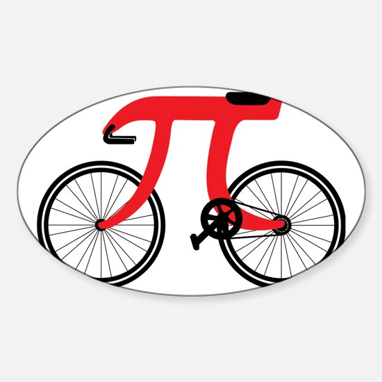Funny Science, PI Sticker (Oval)