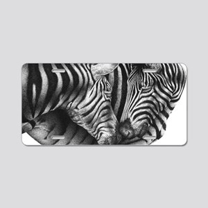 Zebras Galaxy Case Aluminum License Plate