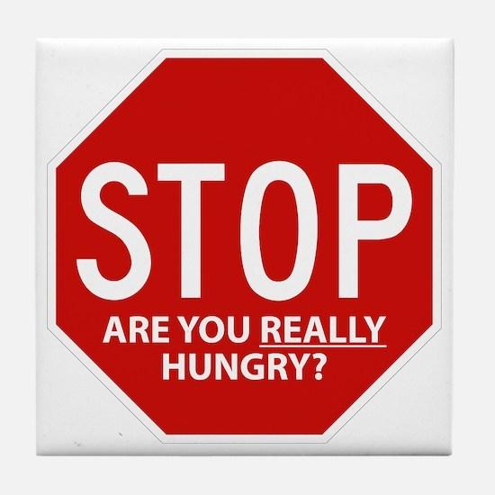 Diet Motivation Mag... Tile Coaster