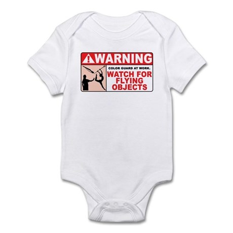 Flying Objects, Red Infant Bodysuit