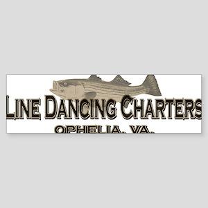 Line Dancing Logo 1 Sticker (Bumper)