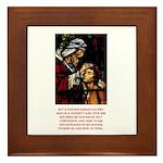 Good Samaritan Framed Tile