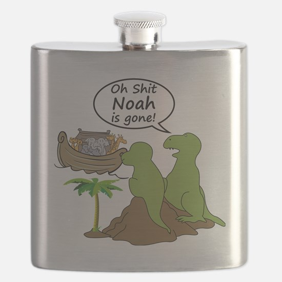 Oh Shit, Noah is Gone Flask
