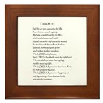 Psalm 121 Framed Tile