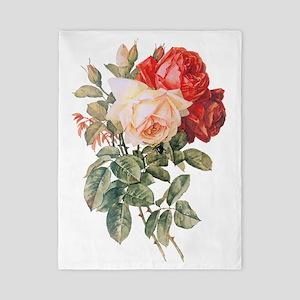 Three Roses Twin Duvet