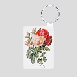 Three Roses Aluminum Photo Keychain