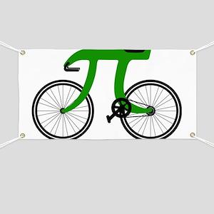 Pi Bike green Banner