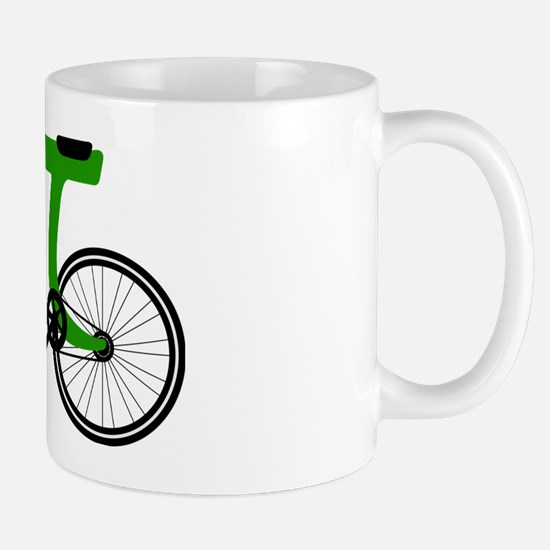 Pi Bike green Mug