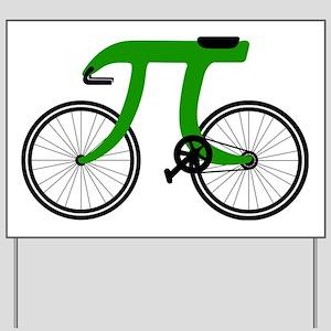 Pi Bike green Yard Sign