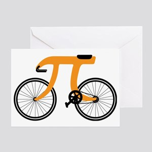Funny Bicycle 3.14 Greeting Card