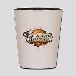Chronicles of Herenvale Logo Shot Glass