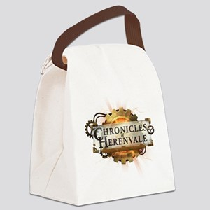 Chronicles of Herenvale Logo Canvas Lunch Bag