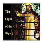 Light of the World Tile Coaster