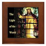 Light of the World Framed Tile
