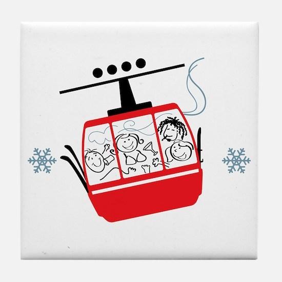 Gondola Ride Tile Coaster