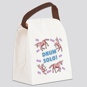 Charlie-D24-WaterBottle Canvas Lunch Bag