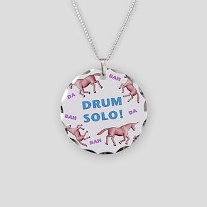 Charlie-D24-BlackApparel Necklace Circle Charm