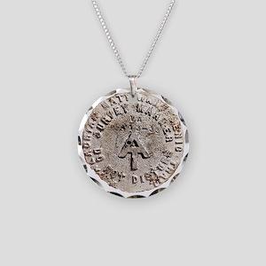 Appalachian Trail Survey Mar Necklace Circle Charm