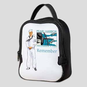 Pearl Harbor Neoprene Lunch Bag