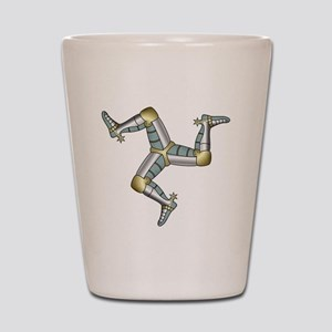 Treskelion of the three legs Shot Glass