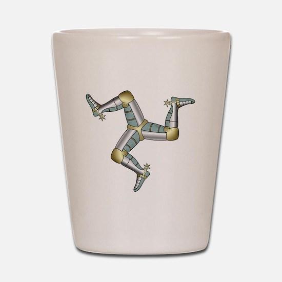 Treskelion of the three legs Shot Glass