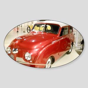 Crosley Car Sticker (Oval)