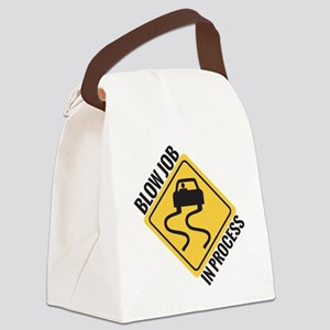 blow job Canvas Lunch Bag