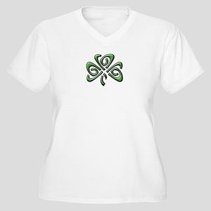 Irish: Celtic Sha Women's Plus Size V-Neck T-Shirt