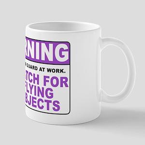 Flying Objects, Purple Mug
