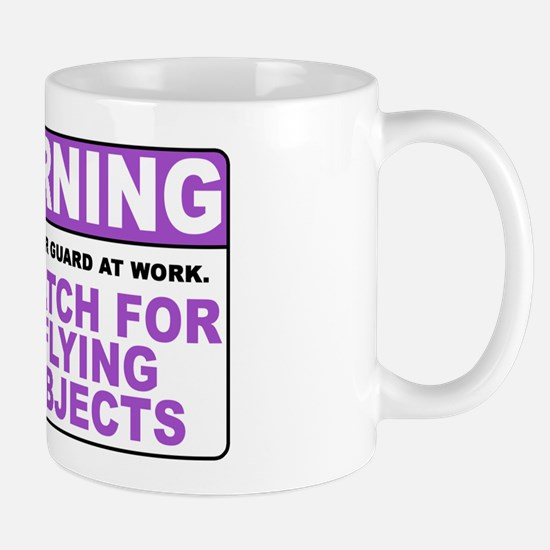 Flying Objects, Purple Mug