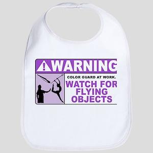 Flying Objects, Purple Bib