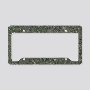 Enlarged congestion charging  License Plate Holder
