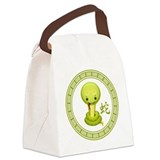 Snake cute Canvas Lunch Bag