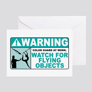 Flying Objects, Teal Greeting Cards (Pk of 10)