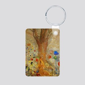 Odilon Redon Buddha In His Aluminum Photo Keychain