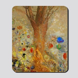 Odilon Redon Buddha In His Youth. Mousepad