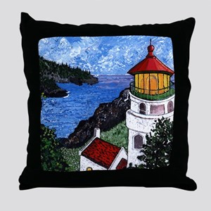 Heceta Head Lighthouse, Oregon Throw Pillow
