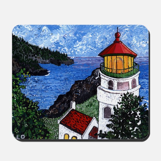 Heceta Head Lighthouse, Oregon Mousepad