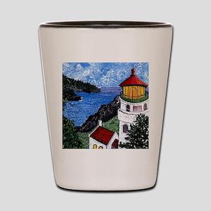 Heceta Head Lighthouse, Oregon Shot Glass