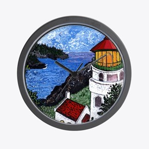 Heceta Head Lighthouse, Oregon Wall Clock