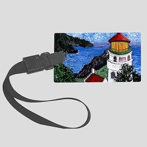 Heceta Head Lighthouse, Oregon Large Luggage Tag