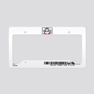 2103A-THE-VIEW-BACK License Plate Holder
